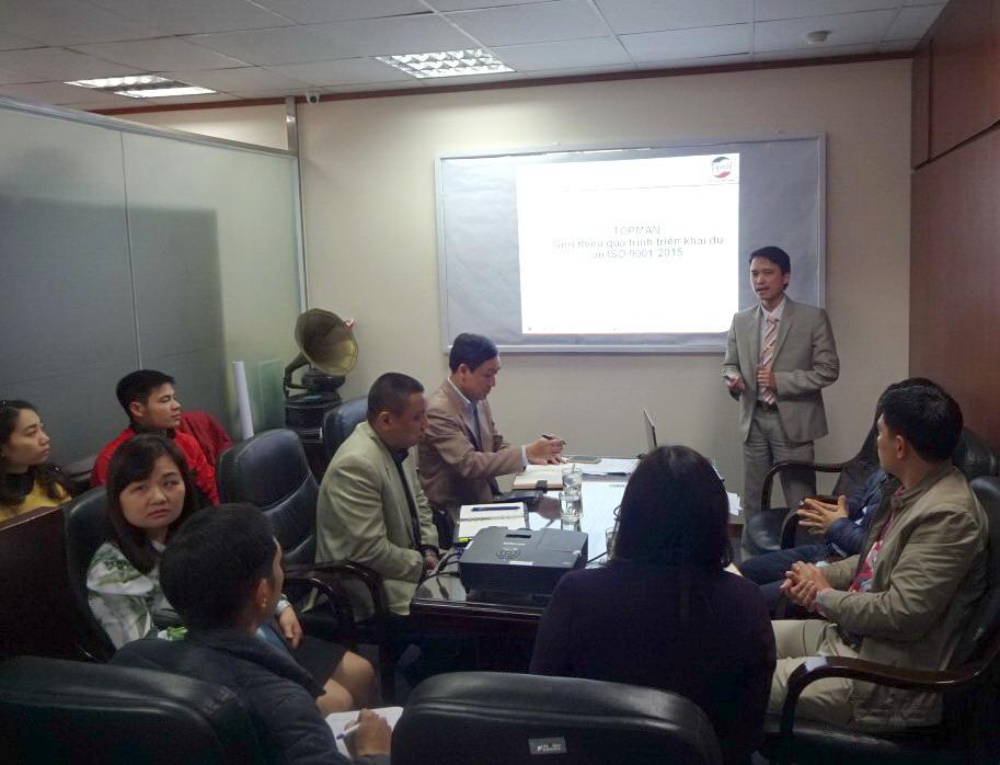 02 TopMan tu van ISO cho Dien may Ha Noi Công ty CP Điện máy Hà Nội xây dựng Hệ thống quản lý chất lượng ISO 9001:2015