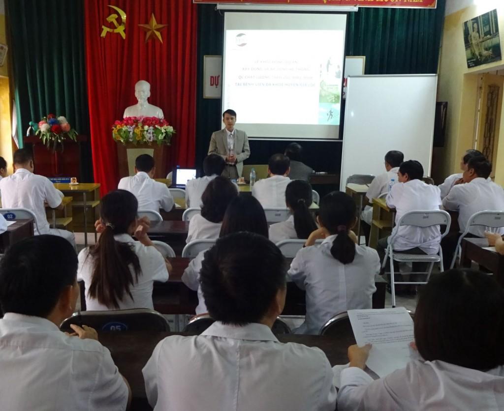 03 TopMan tu van ISO cho Benh vien Gia Loc 1024x836 Bệnh viện Đa khoa Gia Lộc khởi động dự án xây dựng và áp dụng ISO 9001:2008