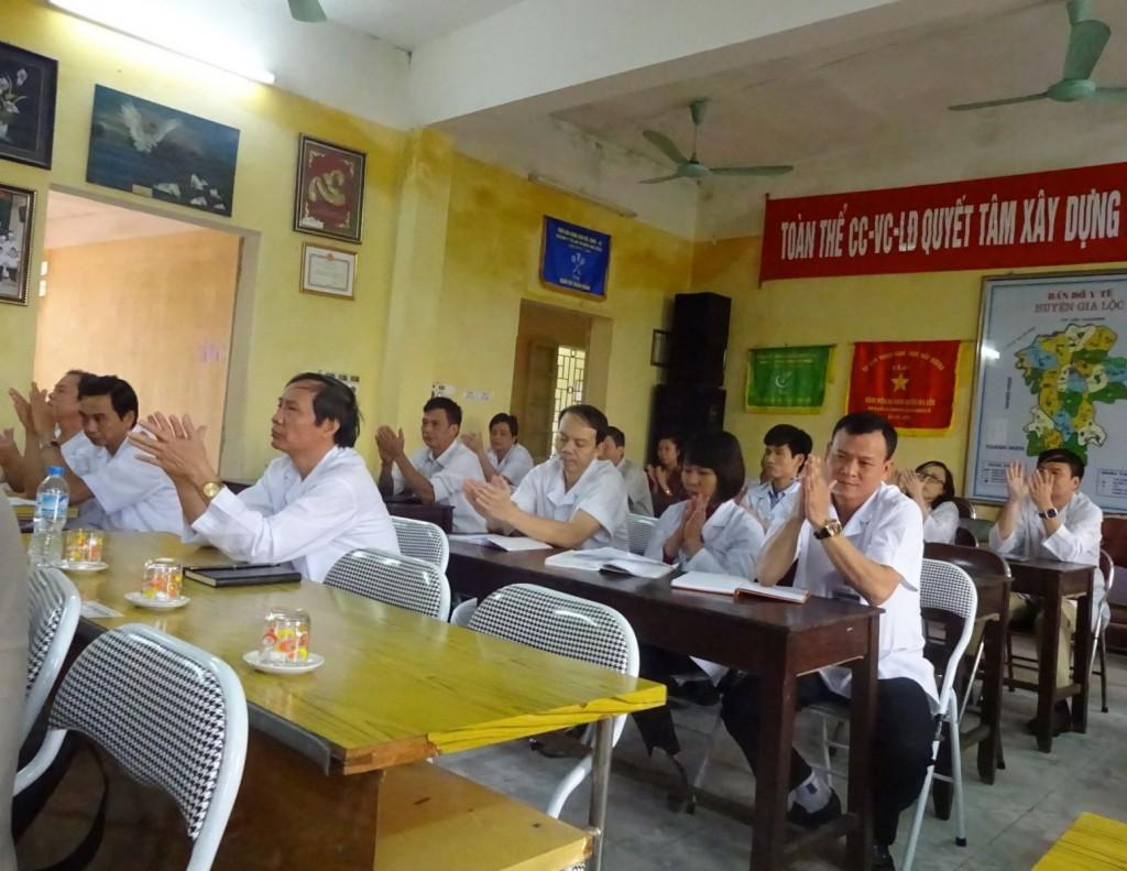 06 TopMan tu van ISO cho Benh vien Gia Loc 1024x791 Bệnh viện Đa khoa Gia Lộc khởi động dự án xây dựng và áp dụng ISO 9001:2008