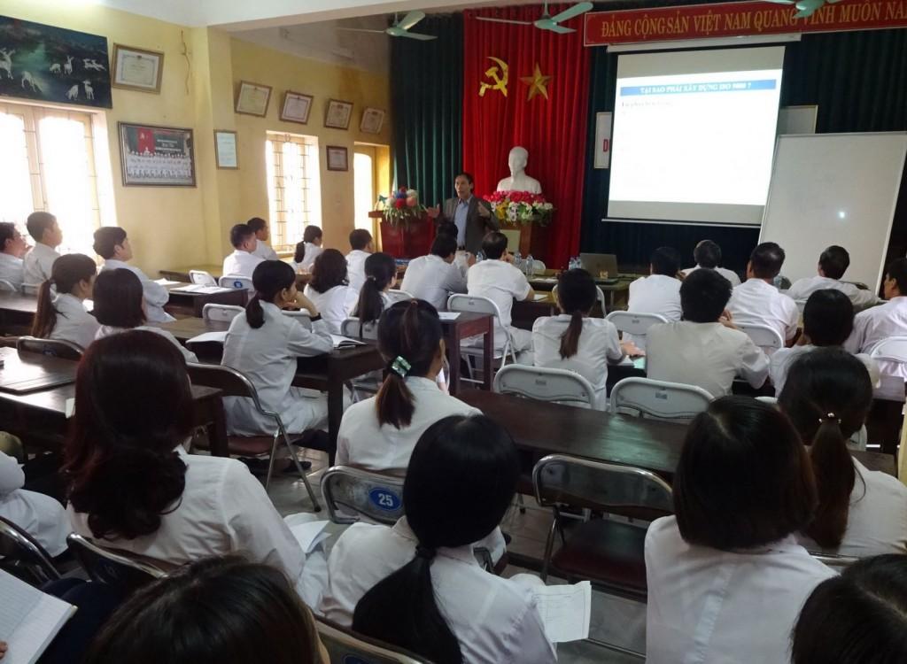 07 TopMan tu van ISO cho Benh vien Gia Loc 1024x750 Bệnh viện Đa khoa Gia Lộc khởi động dự án xây dựng và áp dụng ISO 9001:2008