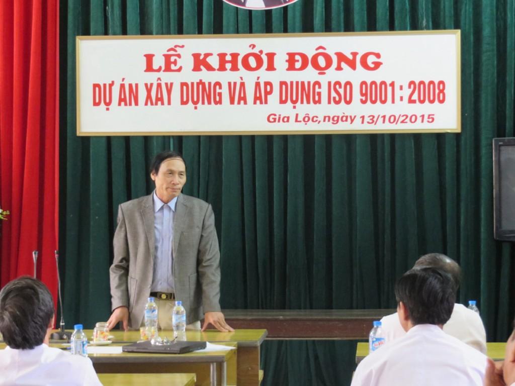 09 TopMan tu van ISO cho Benh vien Gia Loc1 1024x768 Bệnh viện Đa khoa Gia Lộc khởi động dự án xây dựng và áp dụng ISO 9001:2008