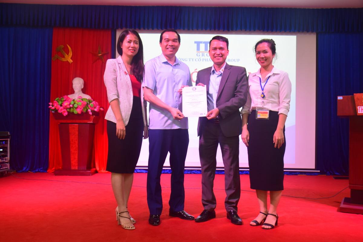 1 Benh vien Thai Thuong Hoang dat chung nhan ISO 9001 tu GIC TOPMAN Bệnh viện Thái Thượng Hoàng đạt Chứng nhận ISO 9001:2015