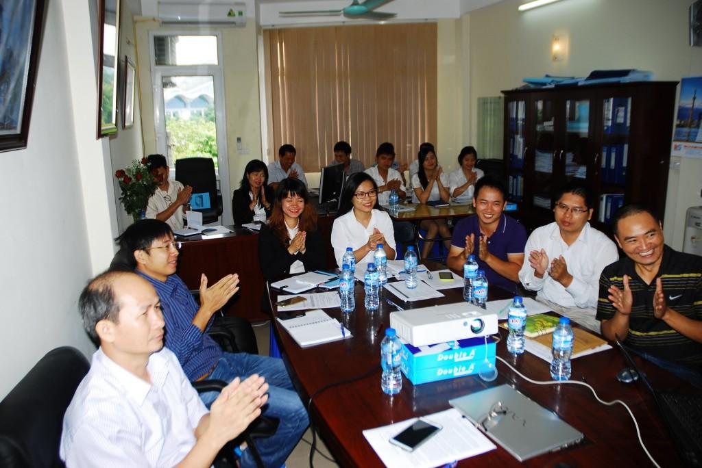 """10 TopMan Tu van ISO 5S Xay dung Dong Son1 1024x684 Khởi động Dự án """"Xây dựng, áp dụng Hệ thống quản lý chất lượng ISO 9001 & 5S"""" tại Công ty CP Xây dựng và TM Đông Sơn"""