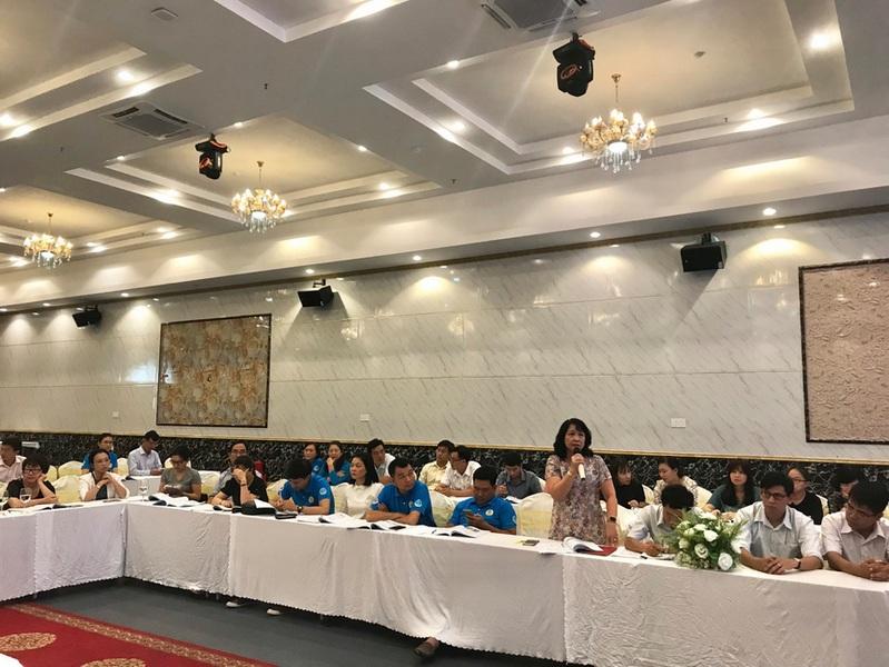 """2 Bao ve Blouse trang cho CS YT mien nam Tập huấn 5S """"Bảo vệ Blouse trắng"""" cho các cơ sở Y tế khu vực phía Nam"""