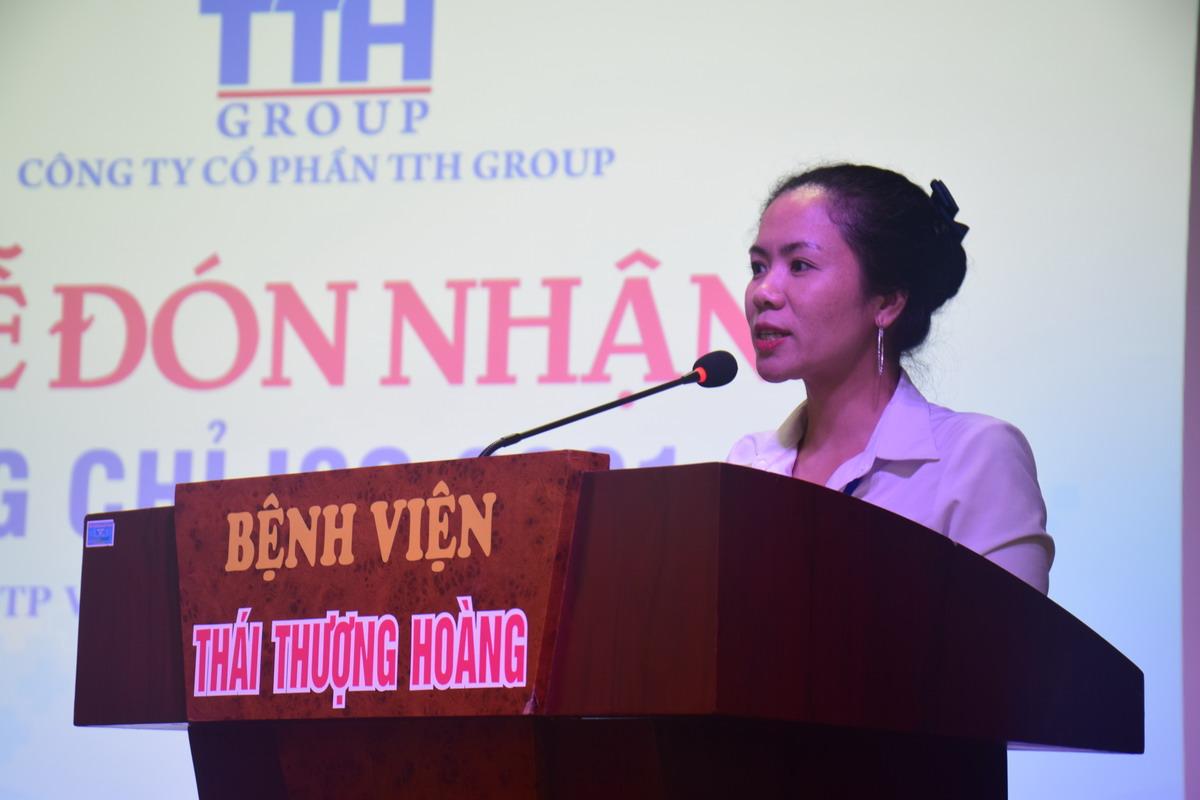 2 Benh vien Thai Thuong Hoang dat chung nhan ISO 9001 Bệnh viện Thái Thượng Hoàng đạt Chứng nhận ISO 9001:2015