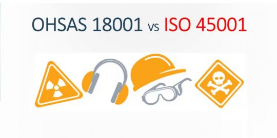 3 OHSAS 18001 and ISO 45001