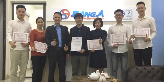 Dau khi Dong A nhan chung chi ISO 9001-2015, TopMan tu van