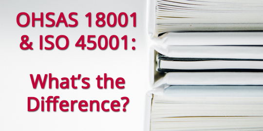 4 ISO 45001 and Ohsas