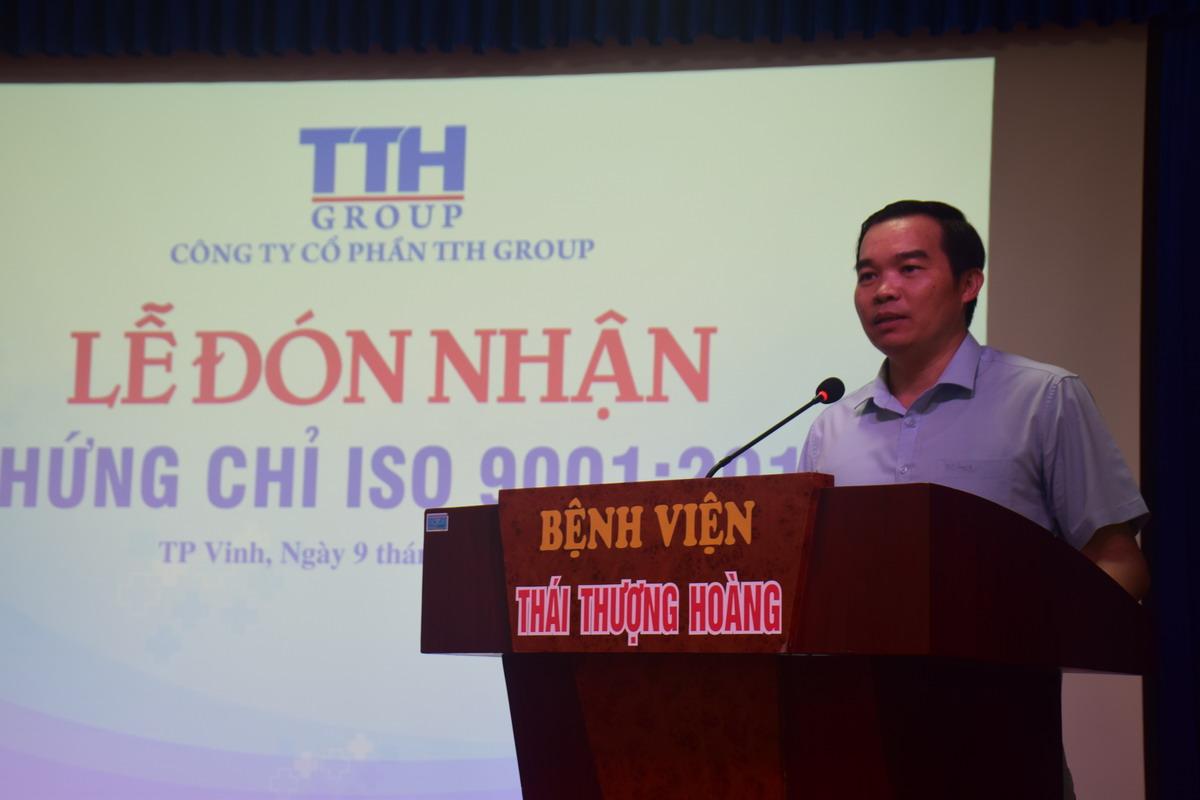 4 TTH Group dat chung nhan ISO 9001 TopMan tu van Bệnh viện Thái Thượng Hoàng đạt Chứng nhận ISO 9001:2015