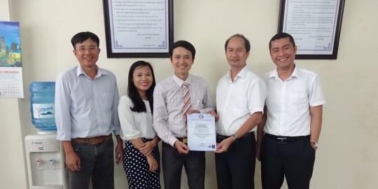 4 XD Dong Son nhan chung chi ISO 9001-2015