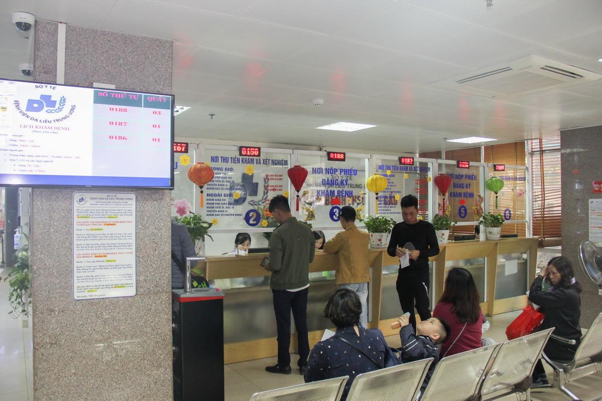 5S tai BV Da lieu TW 1 Tập huấn 5S cho Bệnh viện Da liễu Trung ương
