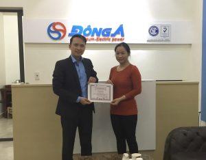 7 TopMan dao tao ISO 9001 2015 cho Dau khi Dong A 300x234 Công ty TNHH Dầu khí Đông Á nhận chứng chỉ ISO 9001:2015