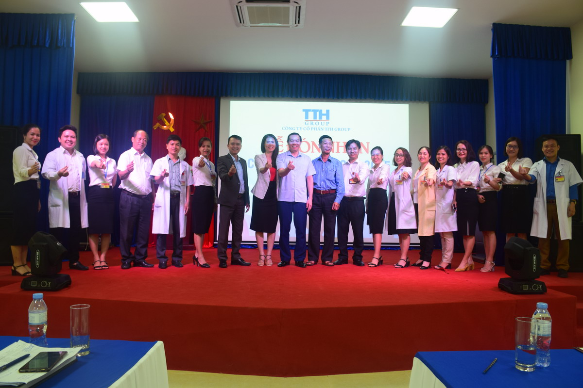 8 TopMan tu van ISO 9001 cho Benh vien Thai Thuong Hoang Bệnh viện Thái Thượng Hoàng đạt Chứng nhận ISO 9001:2015