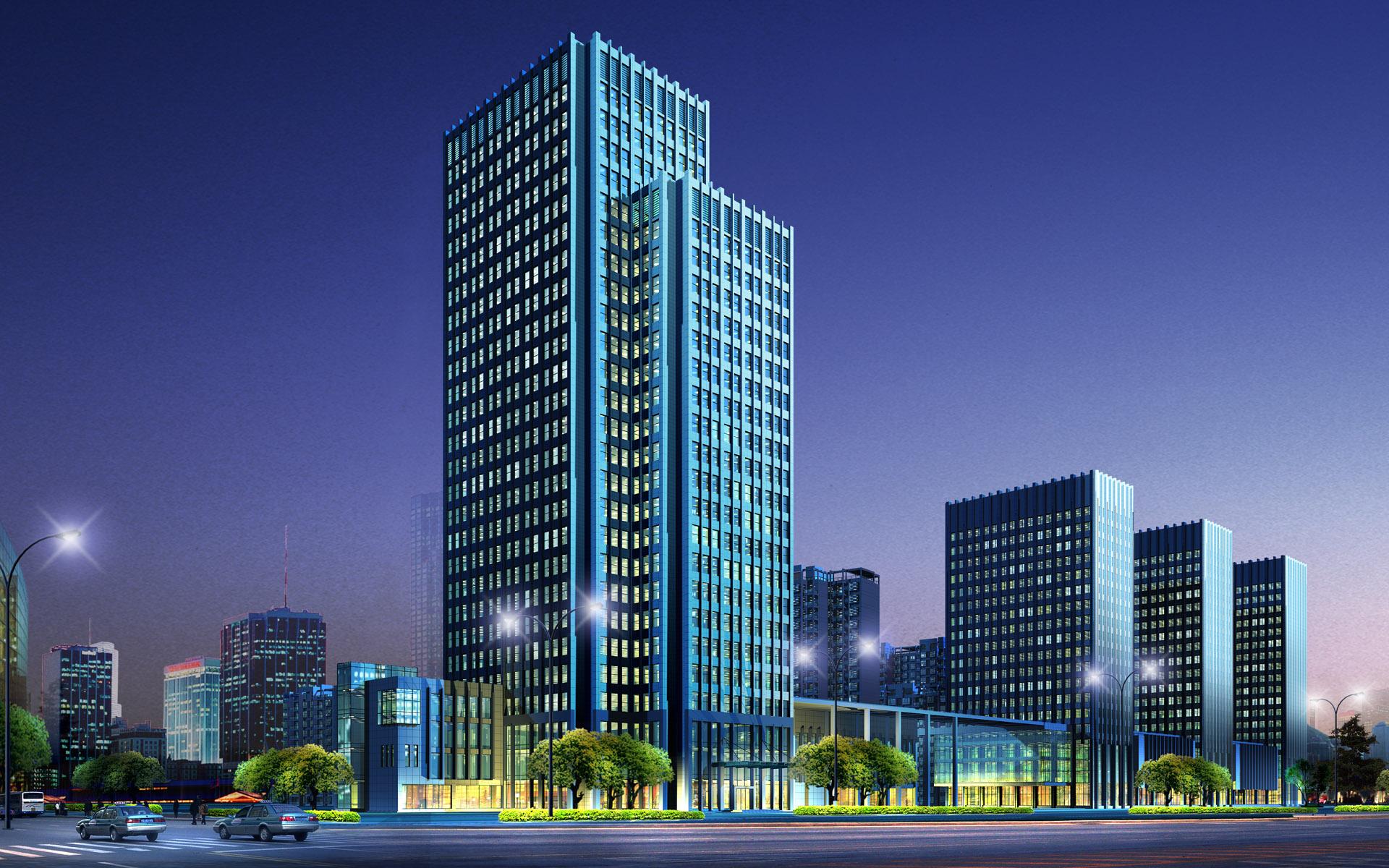 Commercial Building 3D Architectural Renderings CSJZXG 1012 Kiểm toán năng lượng