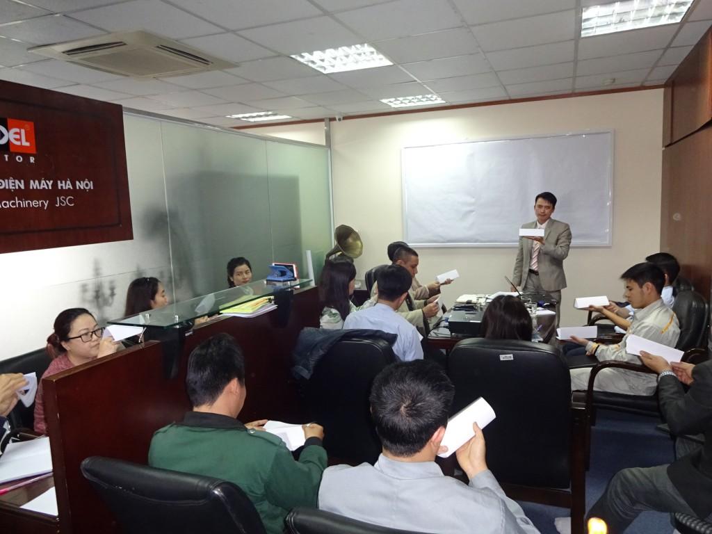 DSC01674 1024x768 Công ty CP Điện máy Hà Nội xây dựng Hệ thống quản lý chất lượng ISO 9001:2015