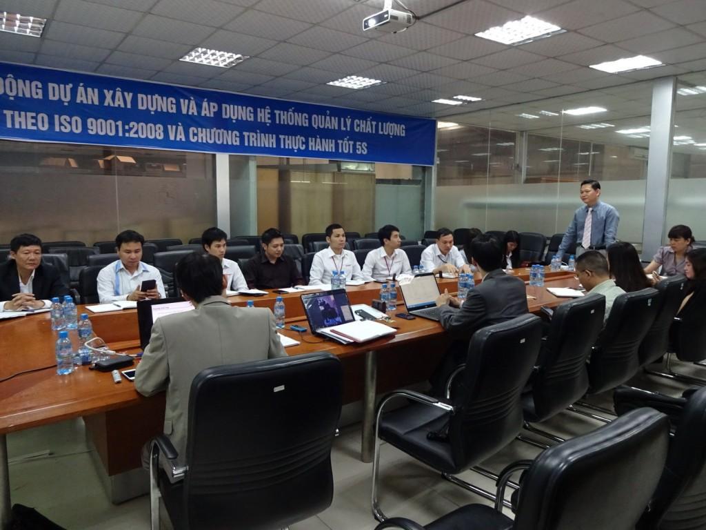 ISO 9001 5S TopMan Anycar 2 1024x768 Ô Tô Anycar Việt Nam triển khai Hệ thống quản lý ISO 9001:2008 và 5S