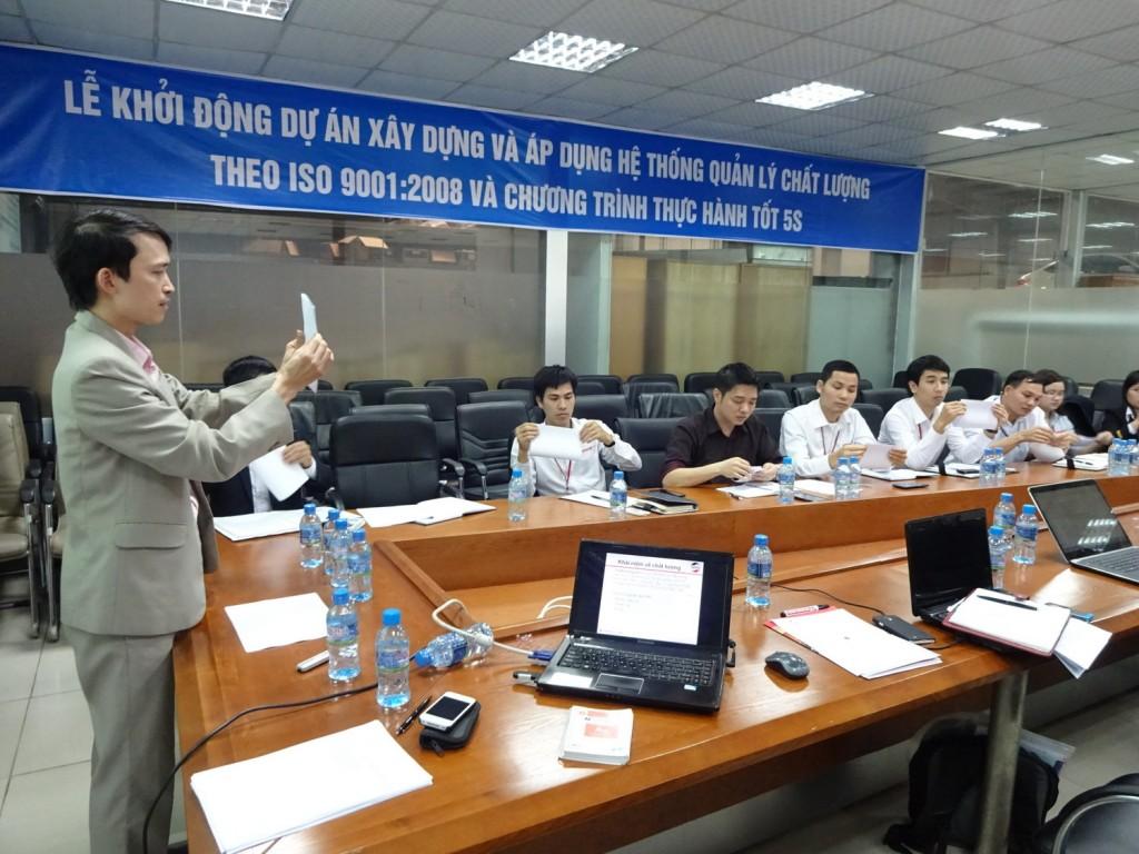 ISO 9001 5S TopMan Anycar 6.1 1024x768 Ô Tô Anycar Việt Nam triển khai Hệ thống quản lý ISO 9001:2008 và 5S