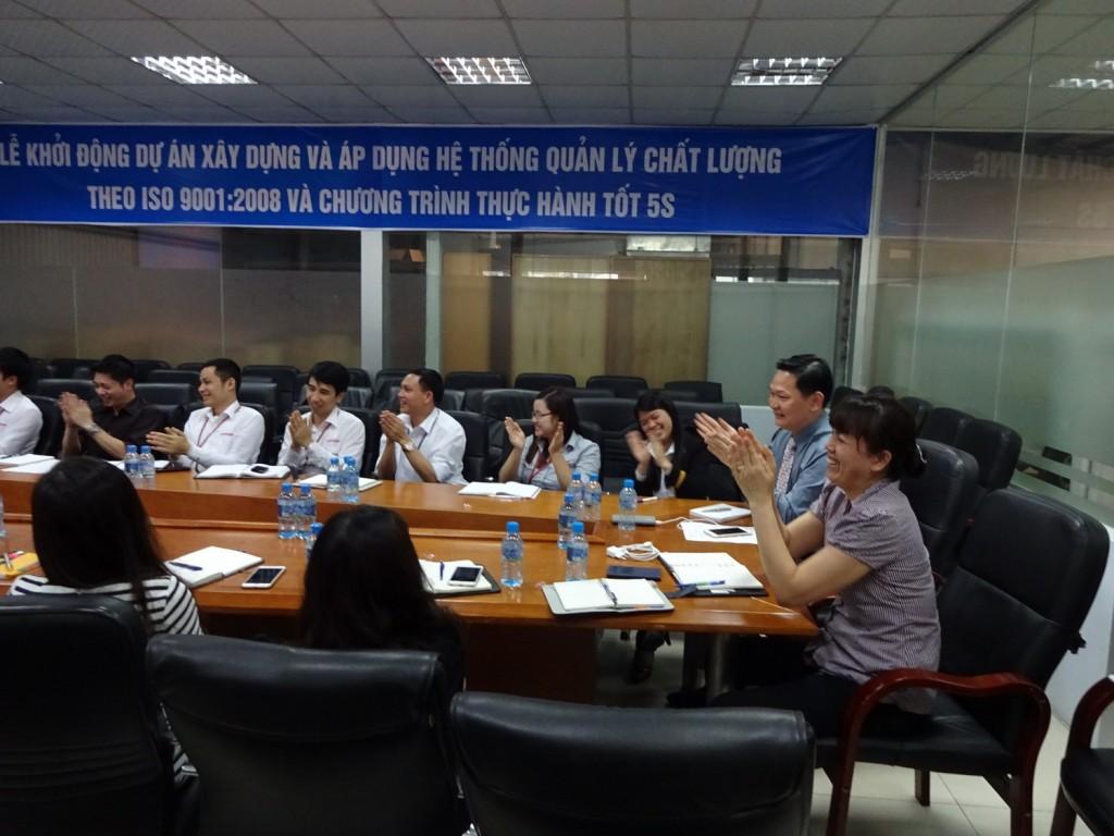 ISO 9001 5S TopMan Anycar 7 1024x768 Ô Tô Anycar Việt Nam triển khai Hệ thống quản lý ISO 9001:2008 và 5S