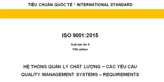 Tieu chuan ISO 9001-2015 tieng Viet-DN