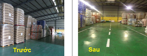 ap dung 5s Hiệu quả áp dụng 5S tại Nhà máy chế biến TACN Dabaco Hoàn Sơn
