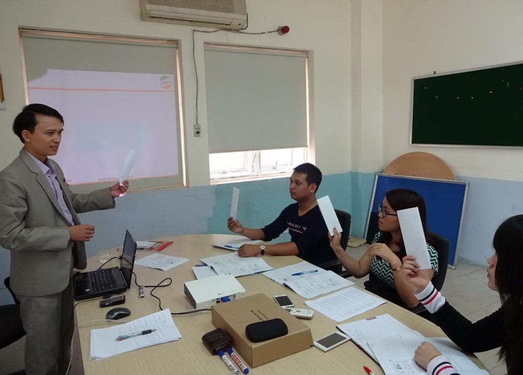 dao tao chuyen gia danh gia noi bo ISO 9001 TopMan 3 1024x735 Đào tạo chuyên gia đánh giá nội bộ theo ISO 9001:2008 tại Công ty IDT   Vina