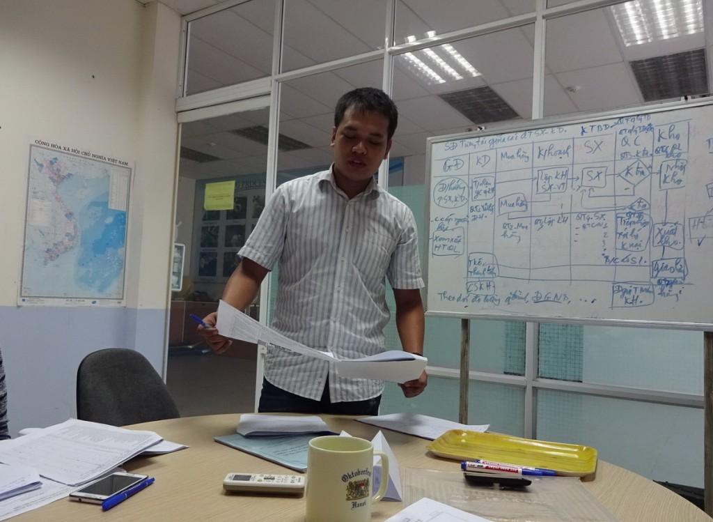 dao tao chuyen gia danh gia noi bo ISO 9001 TopMan 6 1024x749 Đào tạo chuyên gia đánh giá nội bộ theo ISO 9001:2008 tại Công ty IDT   Vina