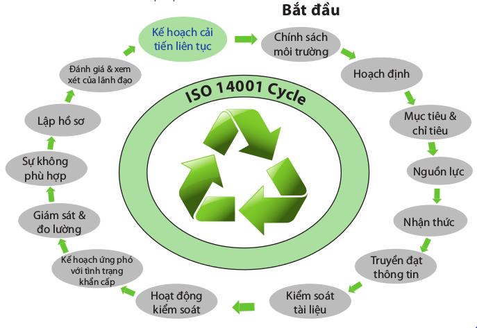 ho thong moi truong 14001 Các câu hỏi thường gặp về ISO 14001 cho doanh nghiệp mới bắt đầu