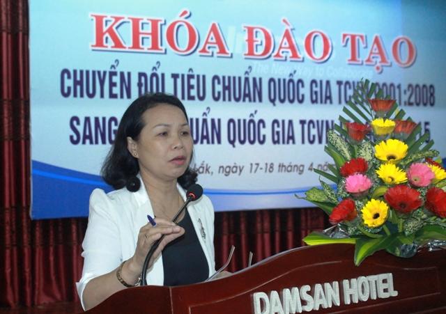 skhcn Tập huấn triển khai hệ thống quản lý chất lượng TCVN 9001:2015 tại tỉnh Đắc Lắc