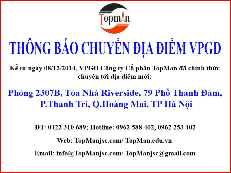 thongbao chuyen vpgd [TopMan] Thông báo chuyển địa điểm Văn phòng giao dịch
